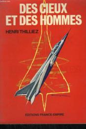 Des Cieux Et Des Hommes. - Couverture - Format classique