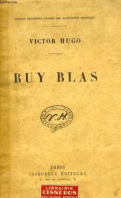 Ruy Blas - Couverture - Format classique