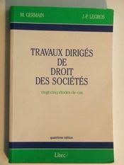 Droit des societes td - Intérieur - Format classique