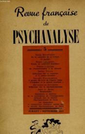 Revue Francaise De Psychanalyse - Couverture - Format classique