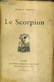 Le Scorpion. - Couverture - Format classique