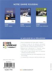 Code rousseau test option cotière (édition 2019) - 4ème de couverture - Format classique