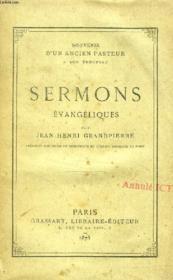 SERMONS EVANGELIQUES (Souvenir d'un ancien Pasteur à son troupeau) - Couverture - Format classique
