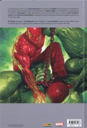 Immortal Hulk T.2 ; la porte verte - 4ème de couverture - Format classique