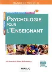Psychologie pour l'enseignant - Couverture - Format classique