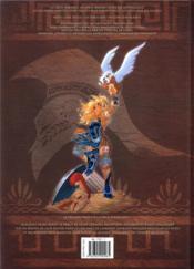 Atalante - la légende HORS-SERIE ; première larme - 4ème de couverture - Format classique