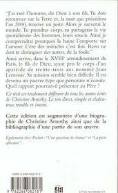 La Derniere Nuit Avant L'An 2000 - 4ème de couverture - Format classique