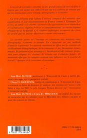 Economie Des Retraites - 4ème de couverture - Format classique