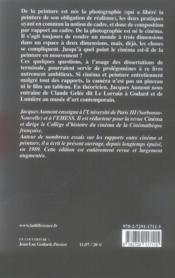 L'oeil interminable - 4ème de couverture - Format classique