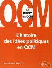 L'histoire des idées politiques en qcm - Intérieur - Format classique