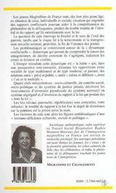 Immigration, Prison, Sida : D'Une Anthropologie Des Conflits Touchant La Jeunesse Maghrebine - 4ème de couverture - Format classique