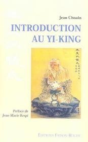 Introduction Au Yi-King - Intérieur - Format classique