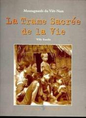 Trame Sacree De La Vie - Couverture - Format classique