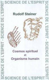 Cosmos Spirituel Et Organisme - Couverture - Format classique