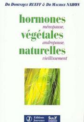 Hormones vegetales naturelles (les) - Intérieur - Format classique