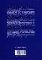 C.g. jung et la voie des profondeurs - 4ème de couverture - Format classique