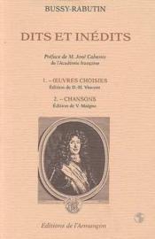 Dits Et Inedits - Couverture - Format classique