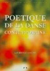 Poétique de la danse contemporaine (3e édition) - Intérieur - Format classique