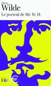 Le portrait de Mr. W.H. - Couverture - Format classique