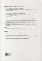 Cahier de la recherche sur les droits fondamentaux t.8 . la liberté d'expression (2010) - 4ème de couverture - Format classique