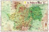 Saone et Loire - Couverture - Format classique