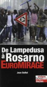De Lampedusa à Rosarno : euromirage - Couverture - Format classique