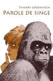 Parole de singe - Couverture - Format classique