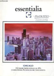 ESSENTIALIA - UCB - CHICAGO - 3e CONGRE INTERNATIONA DE L'IPA - Couverture - Format classique