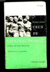 Ceux De Chateaubriant - Couverture - Format classique
