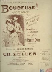Boudeuse ! - Piano Et Chant. - Couverture - Format classique
