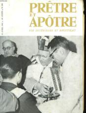 Pretre Et Apotre Vie Interieure Et Apostolat - N°498 - Couverture - Format classique