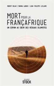 Mort pour la Françafrique - Couverture - Format classique