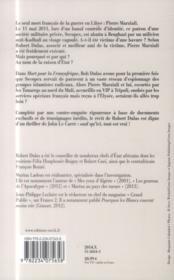 Mort pour la Françafrique - 4ème de couverture - Format classique