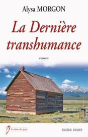 Derniere transhumance - Couverture - Format classique