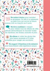 Journal intime de ma grossesse - 4ème de couverture - Format classique