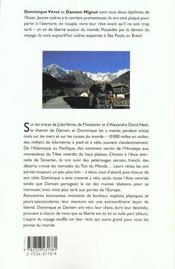 L'Echappee Belle - 4ème de couverture - Format classique
