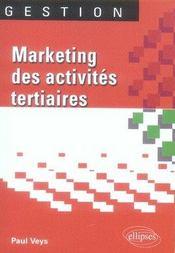 Marketing des activités tertiaires - Intérieur - Format classique