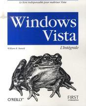 Windows vista ; l'intégrale - Intérieur - Format classique