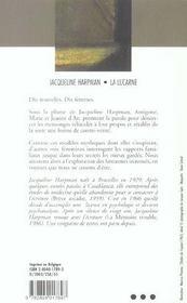 La Lucarne - 4ème de couverture - Format classique