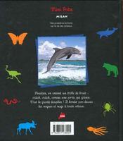 Le dauphin : prince des vagues - 4ème de couverture - Format classique