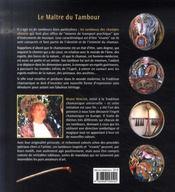 Le maître du tambour ; tambour chamanique - 4ème de couverture - Format classique