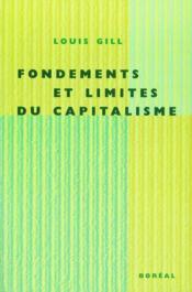 Fondements et limites du capitalisme - Couverture - Format classique