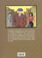 Ernie adams t1 gilda - 4ème de couverture - Format classique