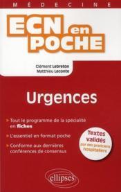 Urgences Tout Le Programme En Fiches L'Essentiel En Format Poche - Couverture - Format classique