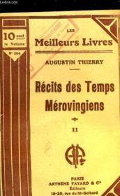 Recits Des Temps Merovingiens - Tome 2 - Couverture - Format classique