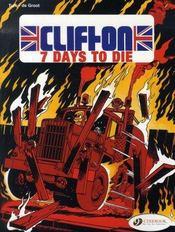 Clifton t.3 ; seven days to die - Intérieur - Format classique