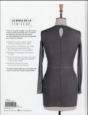 La bible de la couture - 4ème de couverture - Format classique