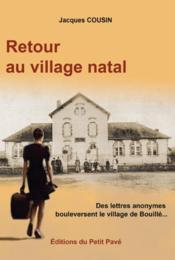 Retour au village natal - Couverture - Format classique