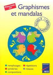 Graphismes et mandalas ; maternelle, CP - Intérieur - Format classique