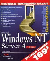 Le Macmillan Nt4 Server Selection Campus - Intérieur - Format classique